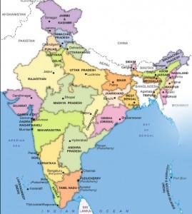 Cartina Dell India Politica.Governo Indiano Federazione Con Sistema Parlamentare Evolution Travel