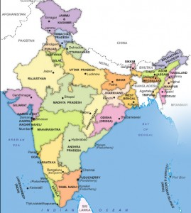 India mappa