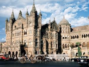 Stazione del treno di Bombay